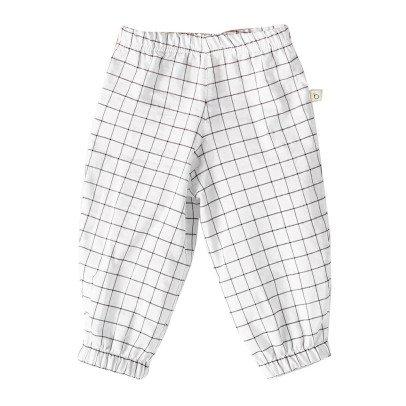 Bacabuche Pantalon Sarouel à Carreaux-listing