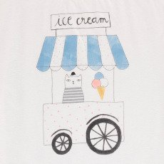Emile et Ida Ice Cream Cart T-Shirt-listing
