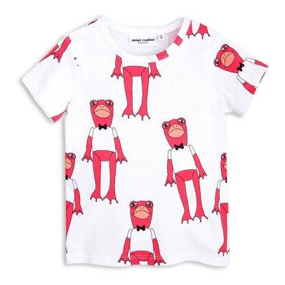 Mini Rodini Camiseta Ranas Algodón Biológico-listing