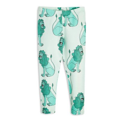 Mini Rodini Organic Cotton Lion Leggings-listing