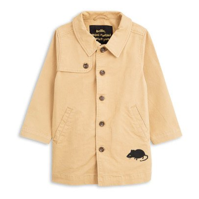 Mini Rodini Organic Cotton Mouse Trench-product