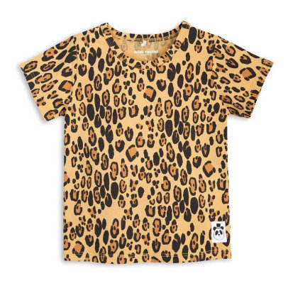 Mini Rodini Organic Cotton Leopard T-Shirt-listing