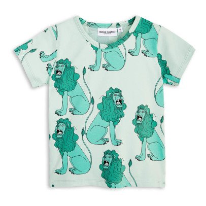 Mini Rodini Organic Cotton Lion T-Shirt-listing