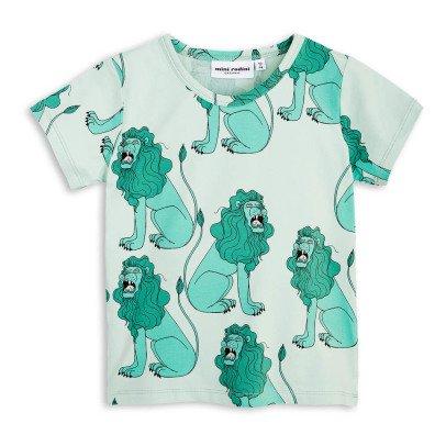 Mini Rodini T-shirt Lions Coton Bio-listing