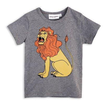 Mini Rodini T-shirt Lion Coton Bio-listing