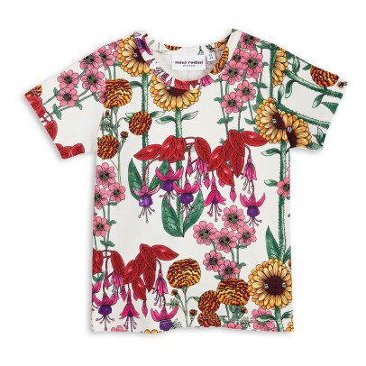 Mini Rodini Camiseta Algodón Biológico Garden-listing