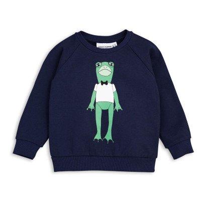 Mini Rodini Sweatshirt Frosch aus Bio-Baumwolle -listing