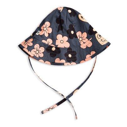 Mini Rodini Sombrero Flores  Rosa Algodón Biológico-product