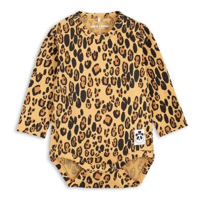 Mini Rodini Body Leopard aus Bio-Baumwolle -product