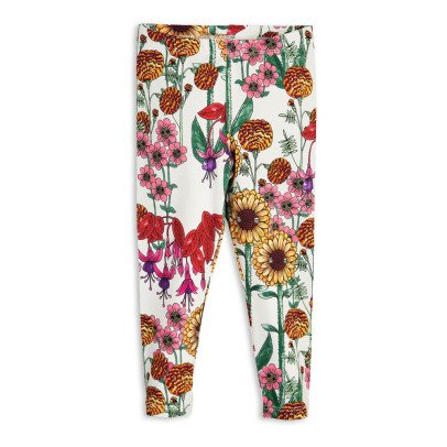 Mini Rodini Garden Organic Cotton Leggings-listing