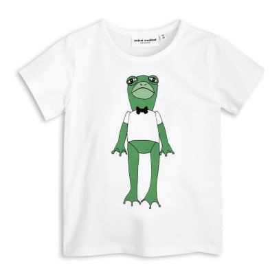 Mini Rodini T-shirt Grenouille Coton Bio-listing