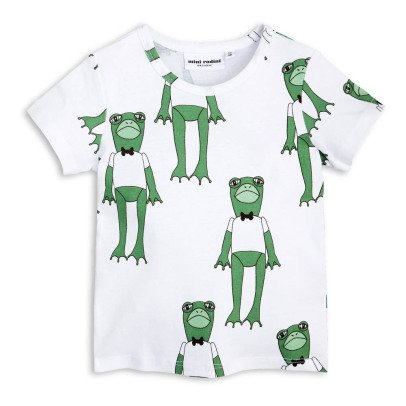 Mini Rodini T-Shirt Frosch aus Bio-Baumwolle -listing