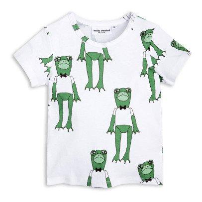 Mini Rodini T-shirt Grenouilles Coton Bio-listing