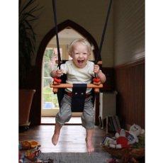 Solvej Swings Balancín para bebé de tela y madera -listing