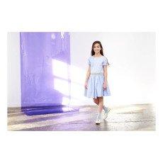 No Added Sugar Dear To Your Hearta Striped Asymetric Dress-listing