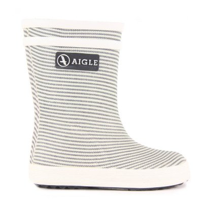 Aigle Baby Flac Kid Striped Rainboots-listing