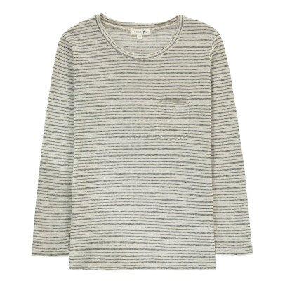 Soeur Camiseta Rayas Bolsillo Sonrisa-listing