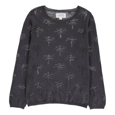 Hartford MiamiOpenwork Palm Tree Jumper -product