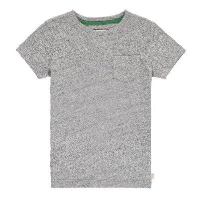 Bellerose T-shirt Flammé Poche Casti-listing