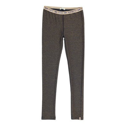 Scotch & Soda Leggings Righe Sottili-listing