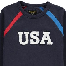 "Finger in the nose Sweatshirt ""USA"" Hank-listing"