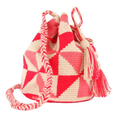 Guanabana Wayuu Triangle Bucket Bag-listing