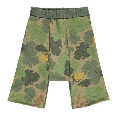 Atelier Barn Jonas Leaf Bermuda Shorts-listing