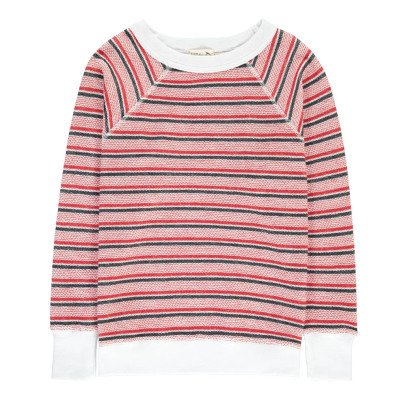 Soeur Timon Striped Flame Sweatshirt-product