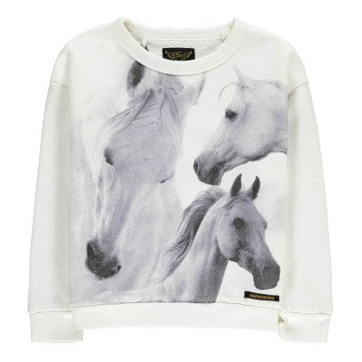 Finger in the nose Sweatshirt Pferd Turner -listing