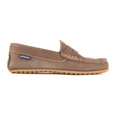 Diggers Penny Oiled Leather Mocassins-listing