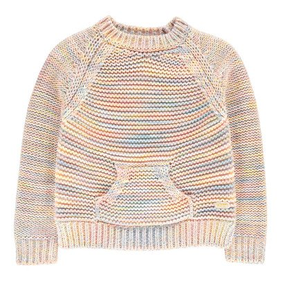 Chloé Pull Fils Multicolores-listing