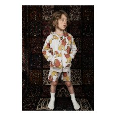 Mini Rodini Organic Cotton Lion Jogging Bottoms-listing