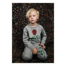 Mini Rodini Sweat Rose Coton Bio-listing