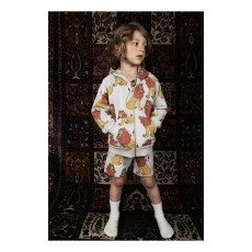 Mini Rodini Suéter Capucha Leones Algodón Biológico-listing