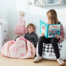 Play and Go Bolso/Alfombra de juego Elefante - A Little Lovely Company-listing