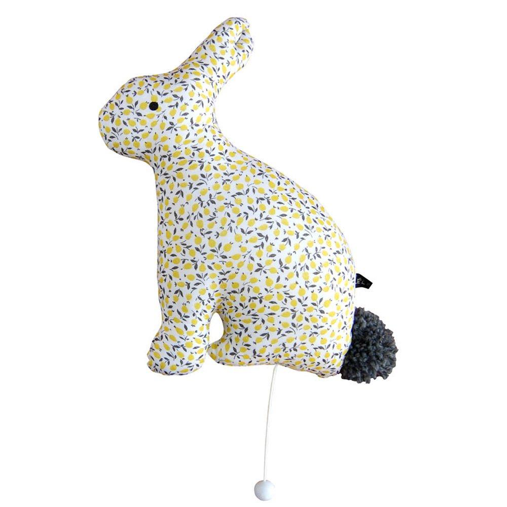 Léléwou Citrons Musical Rabbit Léléwou x Smallable-product