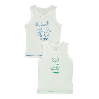 Stella McCartney Kids Barney Vest Tops - Set of 2-listing