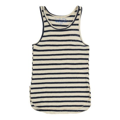 Atelier Barn Camiseta Algodón y Lino Rayas Patti-listing