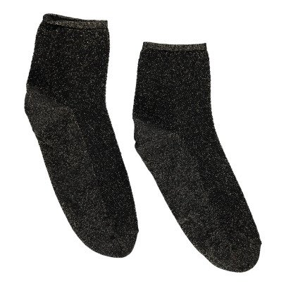 Soeur Brandon Lurex Ankle Socks-listing