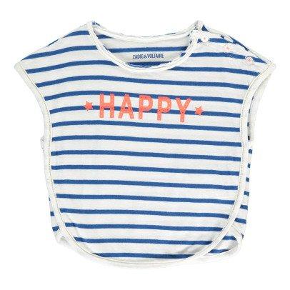 "Zadig & Voltaire Lili ""Happy"" Marinière T-Shirt-product"
