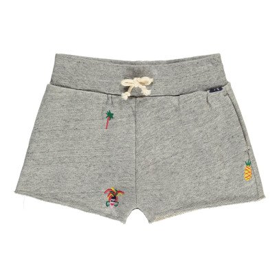 Bellerose Atsy Embroidered Sweat Shorts-listing