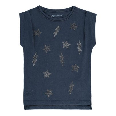 Zadig & Voltaire Sofia Stars and Lightning T-Shirt-listing