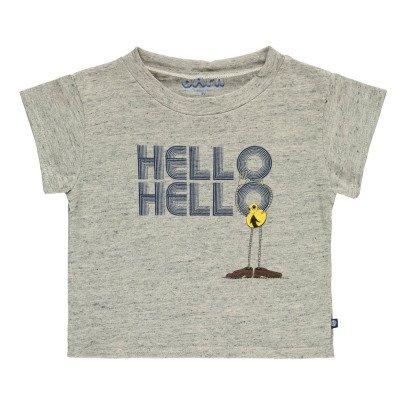 "Atelier Barn Camiseta  ""Hello Hello"" Skip-listing"