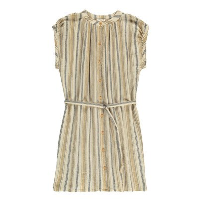Soeur Voisine Striped Shirt Dress with Belt-listing