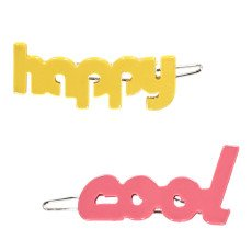 Bonton Cool & Happy - Set of 2 Hairgrips-product