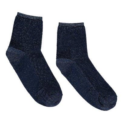 Soeur Calze alla caviglia in rete Lurex-listing