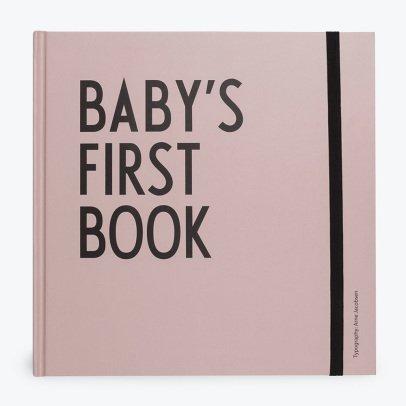 Design Letters Primer álbum bebé-listing