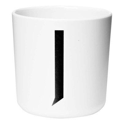 Design Letters Tasse aus Melamin - J-listing