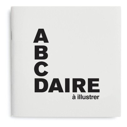 Supereditions Livre Abécédaire à illustrer - Français-listing