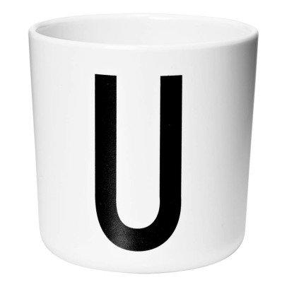 Design Letters Melamine Mug - U-listing